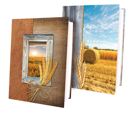 Wheat Memorial Custom Stationery